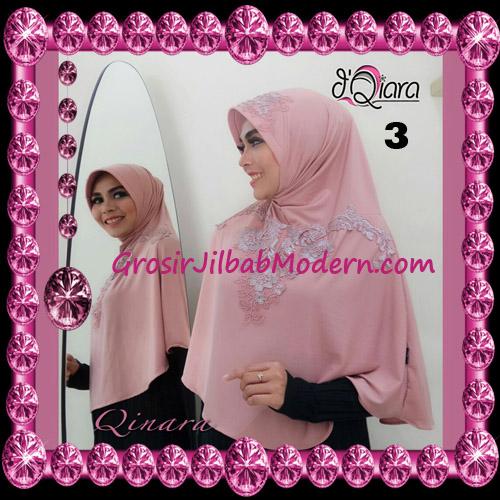 Jilbab Bergo Syar'i Modis Qinara Original By D'Qiara Brand No 3