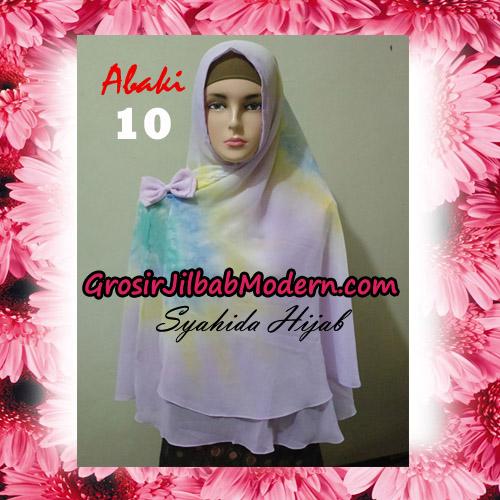 Jilbab Cerutti Tiedye Jumbo Terbaru Khimar Abaky Original By Syahida Brand No 10
