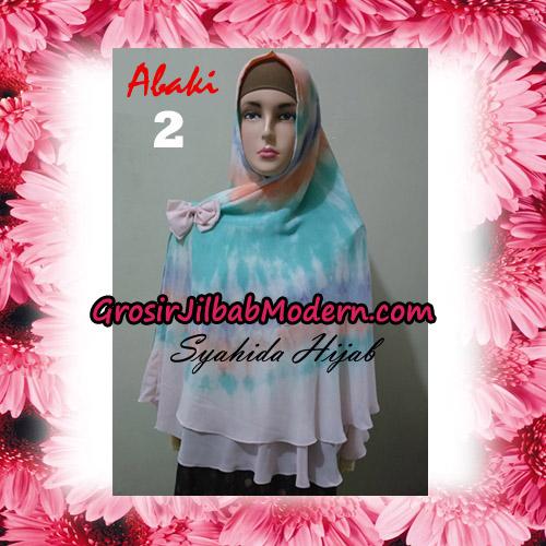 Jilbab Cerutti Tiedye Jumbo Terbaru Khimar Abaky Original By Syahida Brand No 2