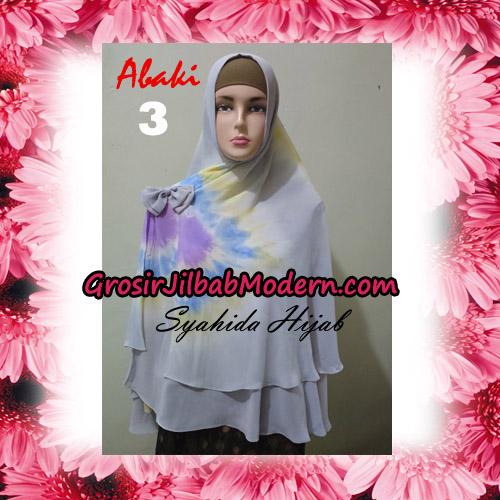 Jilbab Cerutti Tiedye Jumbo Terbaru Khimar Abaky Original By Syahida Brand No 3