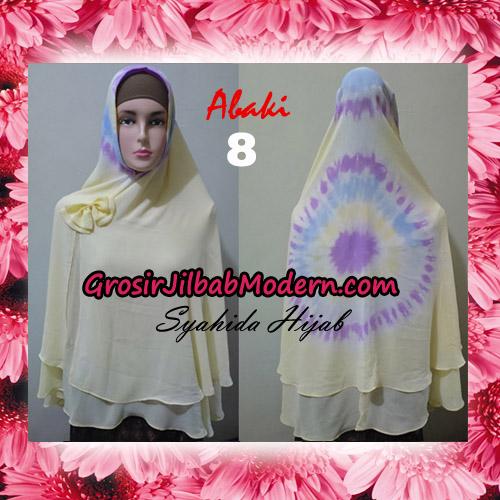 Jilbab Cerutti Tiedye Jumbo Terbaru Khimar Abaky Original By Syahida Brand No 8