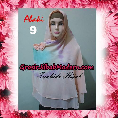 Jilbab Cerutti Tiedye Jumbo Terbaru Khimar Abaky Original By Syahida Brand No 9
