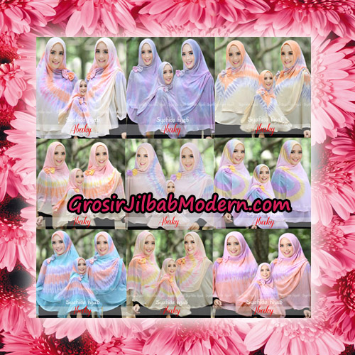 Jilbab Cerutti Tiedye Jumbo Terbaru Khimar Abaky Original By Syahida Brand
