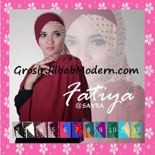 Jilbab Instant Cantik Fatiya Original By Sayra Series