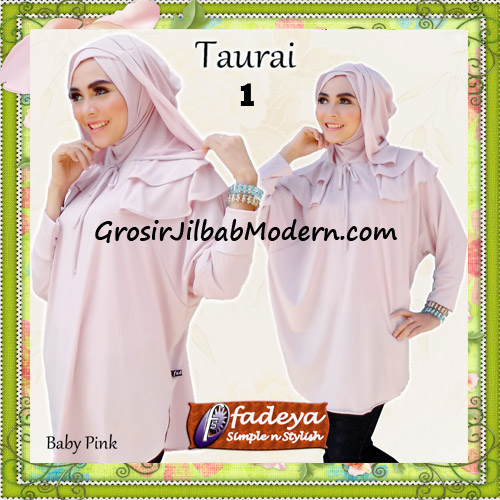 Jilbab Lengan Tanpa Pet Cantik Taurai Original By Fadeya No 1 Baby Pink