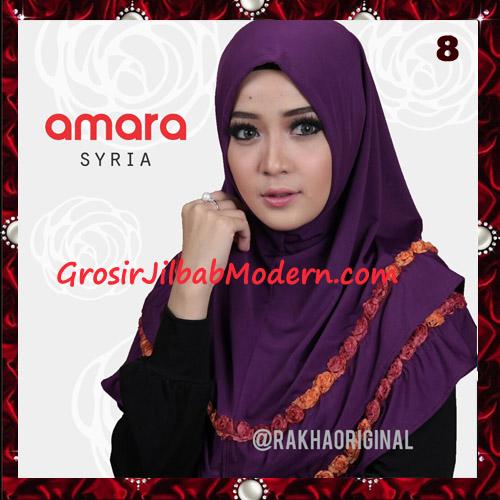 Jilbab Modern Cantik Syria Amara Original By Rakha Brand No 8