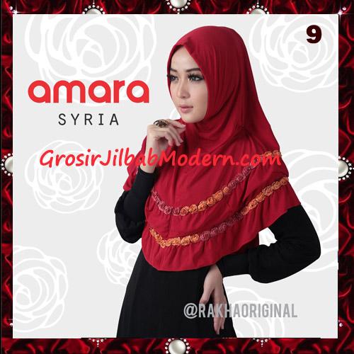 Jilbab Modern Cantik Syria Amara Original By Rakha Brand No 9