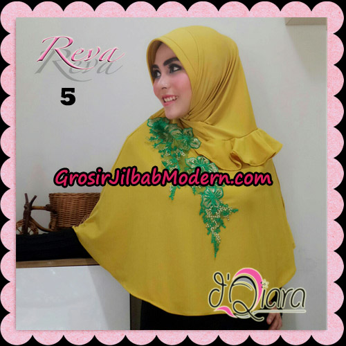 Jilbab Syria Pet Instant Reva Original By d'Qiara Hijab Brand No 5