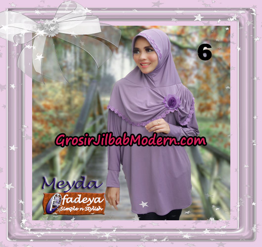 Jilbab Bergo Lengan Cantik Meyda Original By Fadeya Brand No 6