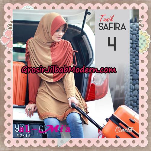 Jilbab Bergo Lengan Instant Tunik Safira Original By Almia ( Al-Mi'a ) Brand No 4