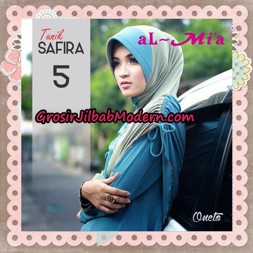 Jilbab Bergo Lengan Instant Tunik Safira Original By Almia ( Al-Mi'a ) Brand No 5