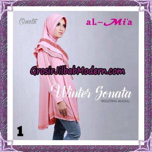 Jilbab Bergo Lengan Instant Tunik Winter Sonata Original By Almia ( Al-Mi'a ) Brand No 1