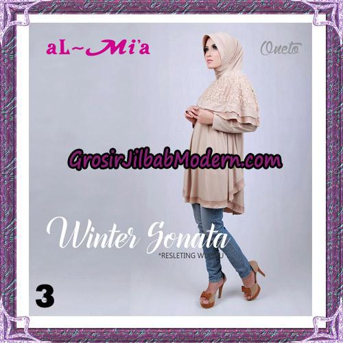 Jilbab Bergo Lengan Instant Tunik Winter Sonata Original By Almia ( Al-Mi'a ) Brand No 3