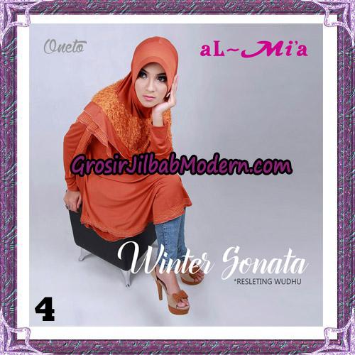 Jilbab Bergo Lengan Instant Tunik Winter Sonata Original By Almia ( Al-Mi'a ) Brand No 4