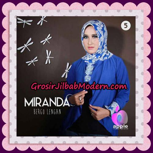 Jilbab Bergo Lengan Modis Premium Miranda Original By Apple Hijab Brand No 5