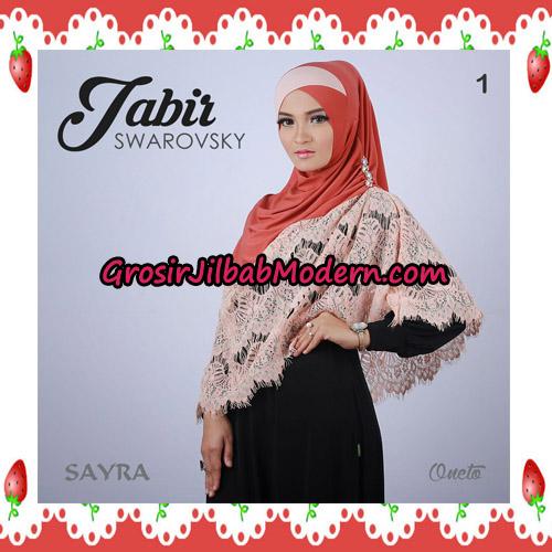 Jilbab Cantik Terbaru Jabir Swarovsky Original By Sayra No 1