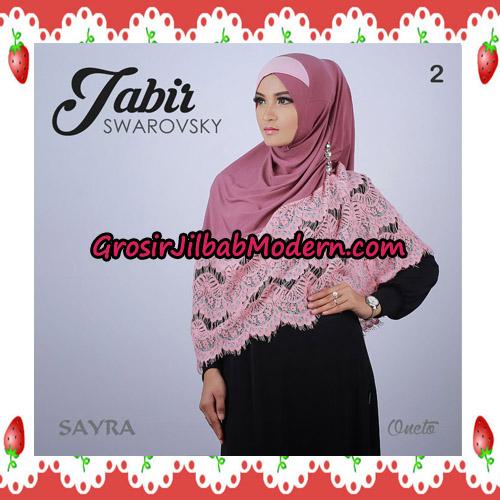 Jilbab Cantik Terbaru Jabir Swarovsky Original By Sayra No 2
