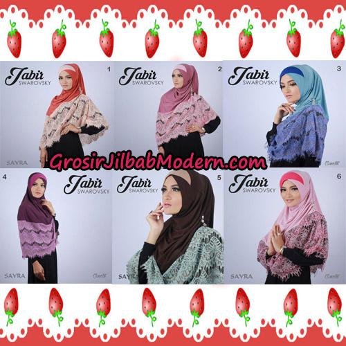 Jilbab Cantik Terbaru Jabir Swarovsky Original By Sayra Series