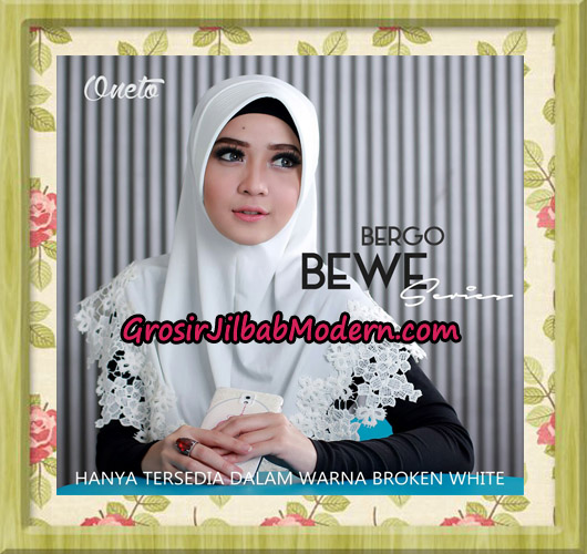 Jilbab Instant Bergo Bewe Support By Oneto
