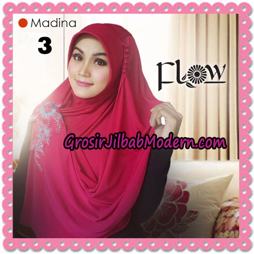 Jilbab Instant Bergo Syria Madina Trendy Original By Flow Idea Brand No 3 Fanta