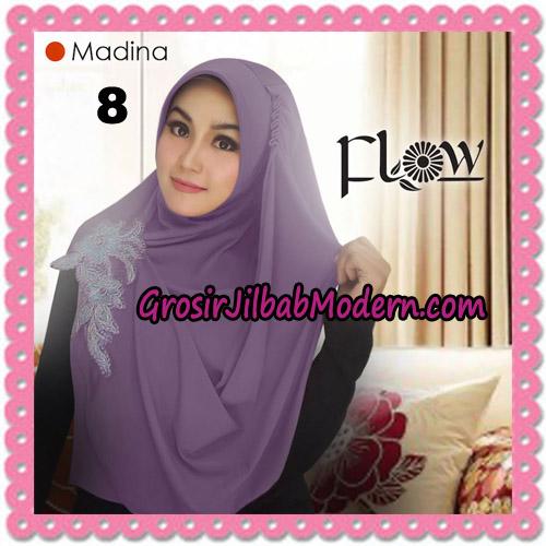 Jilbab Instant Bergo Syria Madina Trendy Original By Flow Idea Brand No 8 Ungu