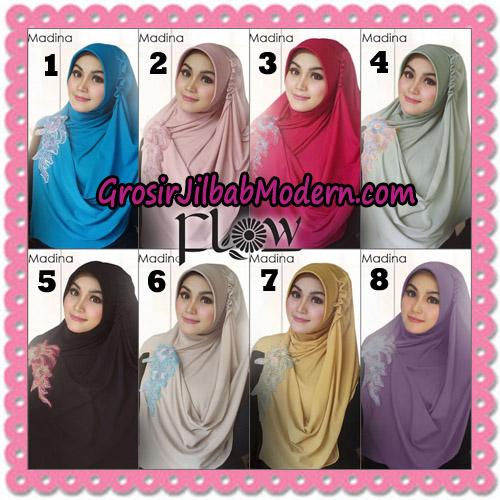 Jilbab Instant Bergo Syria Madina Trendy Original By Flow Idea Brand Series