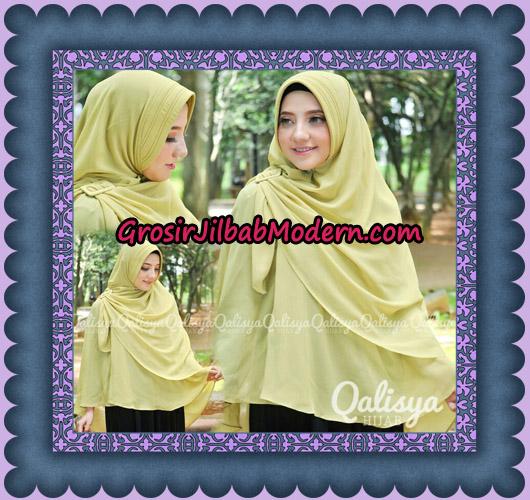 Jilbab Instant Khimar Syar'i Halwa Glitter Pet XL Modis Original By Qalisya Brand - Detail