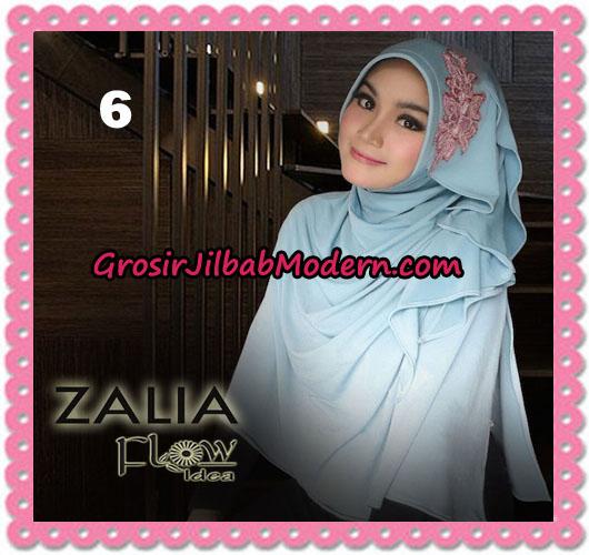 Jilbab Instant Syria Pet Zalia Original By Flow Idea No 6 Mint Tua