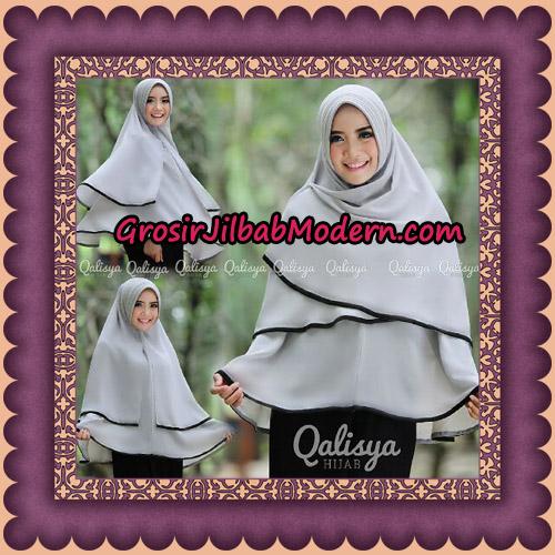 Jilbab Khimar Syar'i Cantik Taqiya Ukuran XL Seri 1 Original By Qalisya Brand - ( Menggunakan Pet )