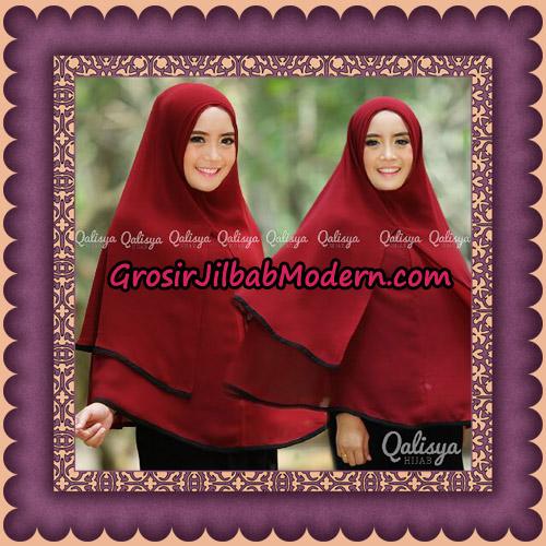 Jilbab Khimar Syar'i Cantik Taqiya Ukuran XL Seri 1 Original By Qalisya Brand - ( Tanpa Pet )