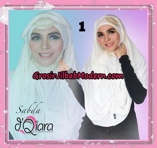 Jilbab Modern Instant Modis Sabda Original By D'qiara Brand No 1