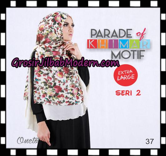 Jilbab Parade Of Khimar Motif Non Pet Seri 2 Support By Oneto Hijab No 37