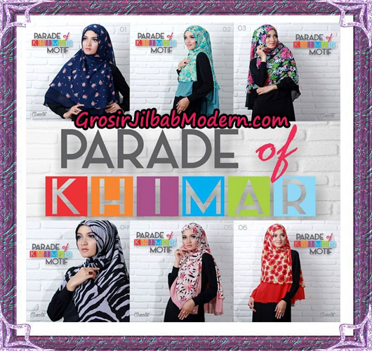 Jilbab Parade Of Khimar Motif Tanpa Pet Support By Oneto No 1 - 6
