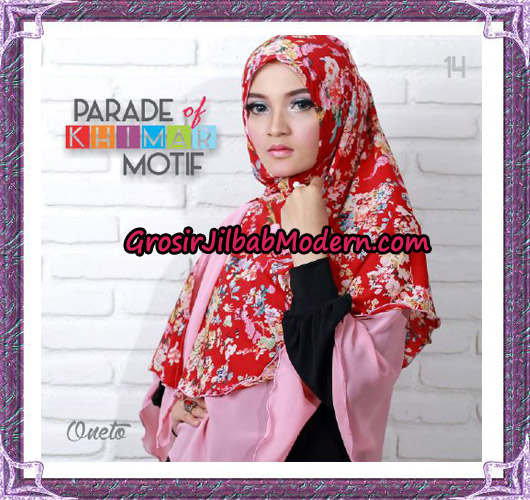 Jilbab Parade Of Khimar Motif Tanpa Pet Support By Oneto No 14