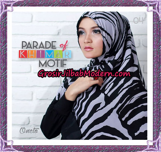 Jilbab Parade Of Khimar Motif Tanpa Pet Support By Oneto No 4