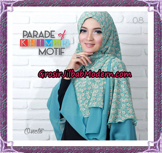 Jilbab Parade Of Khimar Motif Tanpa Pet Support By Oneto No 8