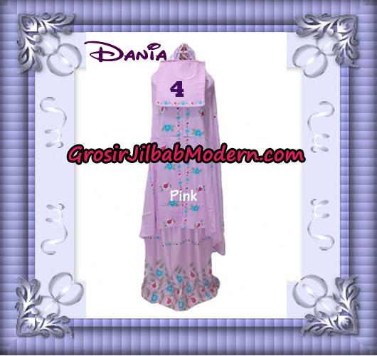 Mukena Bali Cantik Motif Dania Series No 4 - Pink