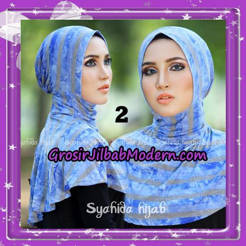 Dalaman Jilbab Ninja Anti Tembem ( Antem ) Lorek Original By Syahida Hijab Brand No 2