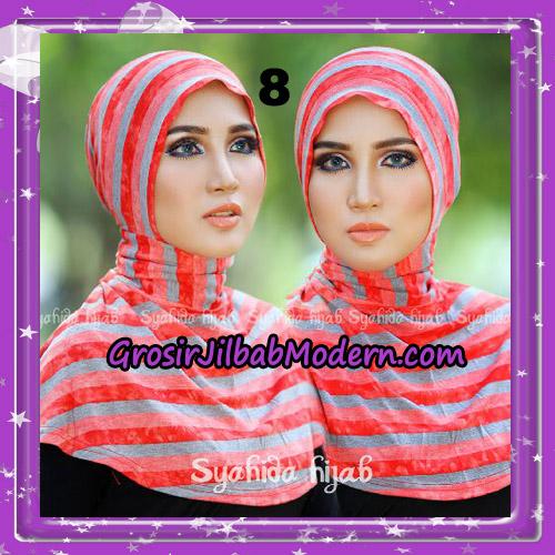 Dalaman Jilbab Ninja Anti Tembem ( Antem ) Lorek Original By Syahida Hijab Brand No 8