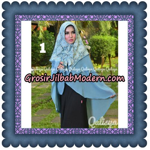 Jilbab Instant Khimar Sabqa Brukat Syar'i Trendy Original By Qalisya Brand No 1