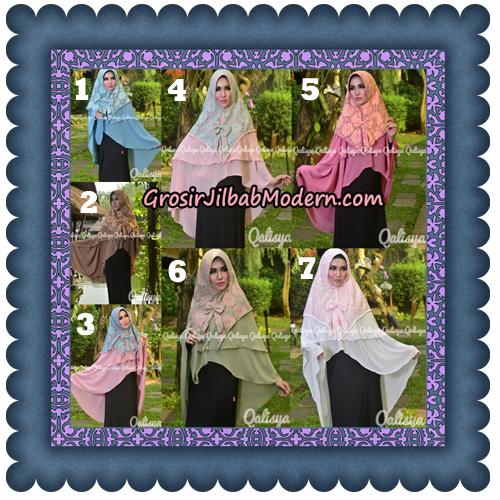 Jilbab Instant Khimar Sabqa Brukat Syar'i Trendy Original By Qalisya Brand