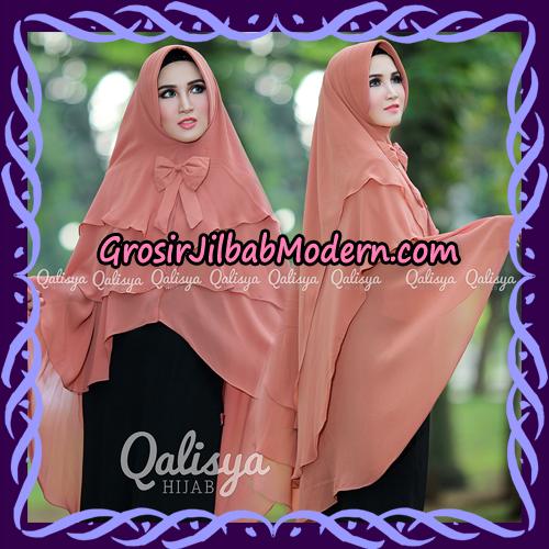 Jilbab Instant Khimar Sabqa Pet Syar'i Modis Original By Qalisya Brand - Pet