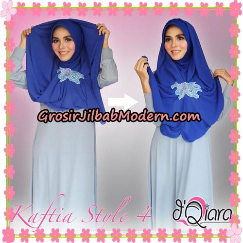 Jilbab Instant Modis 4 In 1 Kaftia Multi Fungsi Original By d'Qiara Hijab Brand - Cara Pemakaian Model 2