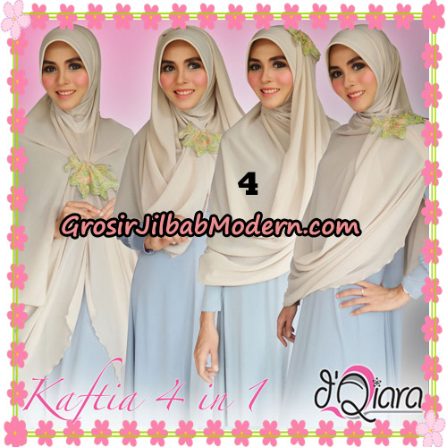 Jilbab Instant Modis 4 In 1 Kaftia Multi Fungsi Original By d'Qiara Hijab Brand No 4
