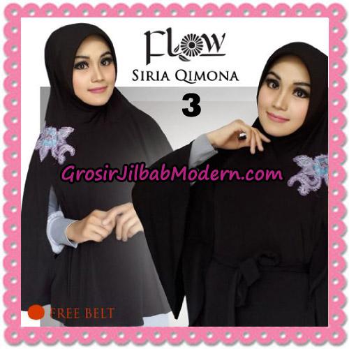 Jilbab Instant Modis Syria Qimora Trendy Original By Flow Idea Brand No 3 Hitam
