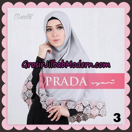 Jilbab Instant Prada Jumbo Syar'i Mawar Support By Oneto Hijab No 3