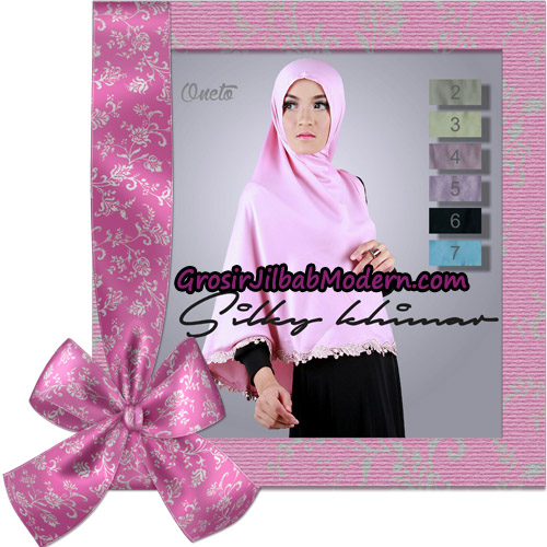 Jilbab Instant Silky Khimar  Support By Oneto Hijab