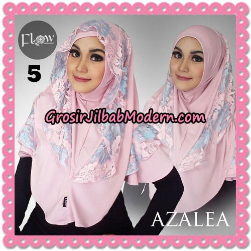 Jilbab Instant Trendy Cantik Syria Azalea Original By Flow Idea Brand No 5 Pink