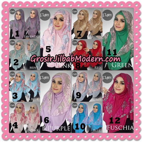 Jilbab Instant Trendy Cantik Syria Azalea Original By Flow Idea Brand