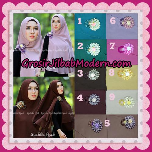 Jilbab Khimar Syar'i Atika Non Pet Original By Syahida Hijab Brand
